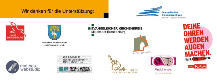 Sponsoren Lehniner Sommermusiken 2021